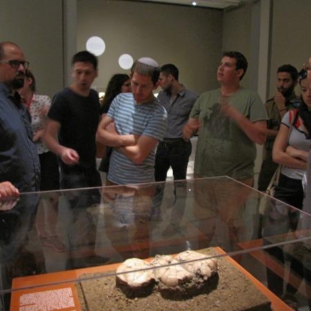 """סיור למוזיאון ישראל - מנדל תשע""""ה"""
